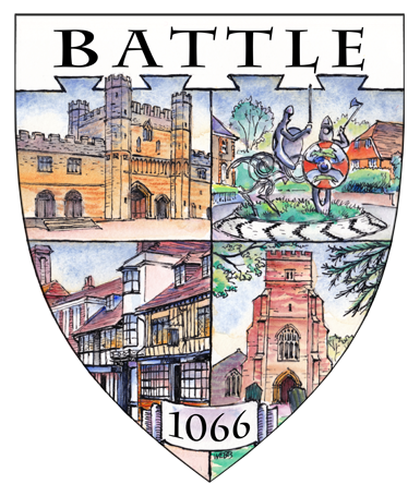 Battle 1066 shield design for a local charity